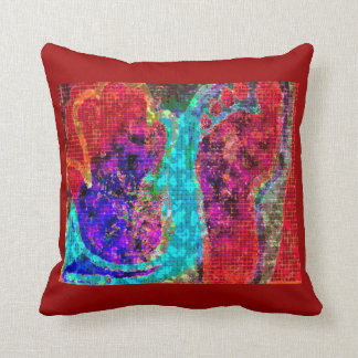 Hands to Lead - Foot to Follow Throw Pillow