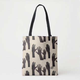 Hands Tote - Sangria