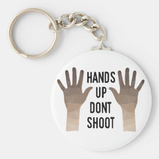 Hands Up Don't Shoot Keychain