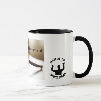 Hands up don't shoot mug