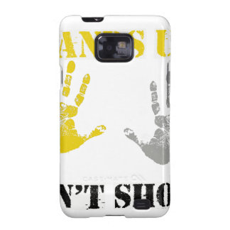 HANDS UP DONT SHOOT png Samsung Galaxy S2 Covers