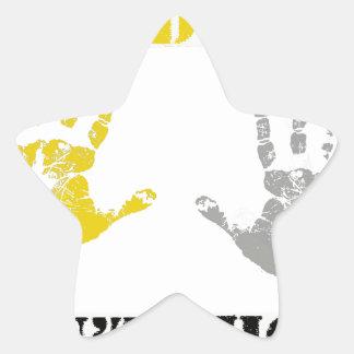 HANDS UP DONT SHOOT.png Star Sticker