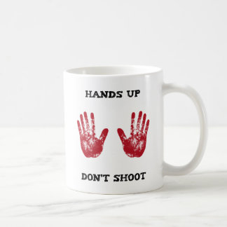 Hands Up Don't Shoot, Solidarity for Ferguson, Mo. Coffee Mug
