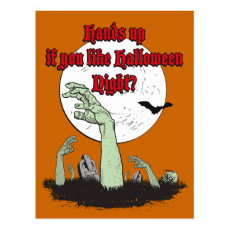 Hands up if you like Halloween Night?, Postcards