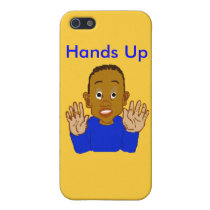 Hands Up iPhone Case