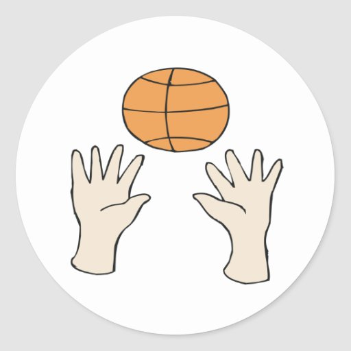 Hands Up Sticker
