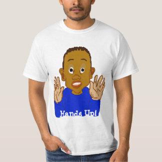 Hands Up Template T-Shirt