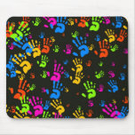 Hands Wallpaper Mouse Pad