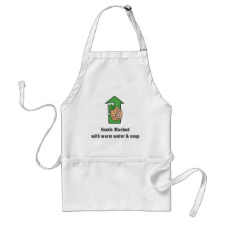 Hands Washed Apron