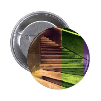 Hands Window Waves Architecture Decorative GIFTS 9 2 Inch Round Button