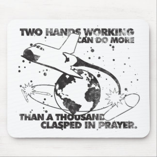 Hands Working Together Mousepad