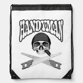 Handsaws del cráneo de la manitas mochilas