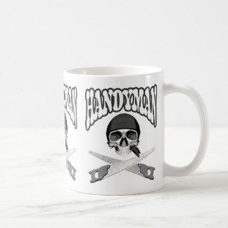 Handsaws del cráneo de la manitas taza de café