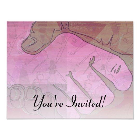 Handshake Artwork Invitation