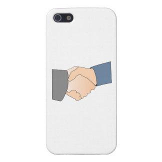 Handshake iPhone 5 Cases