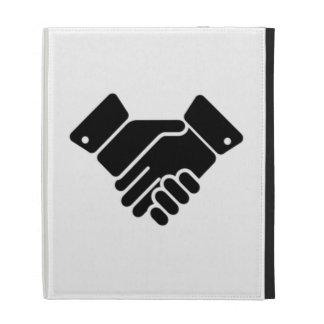 Handshake Sign iPad Folio Case