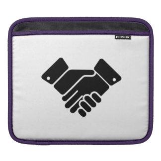 Handshake Sign Sleeves For iPads
