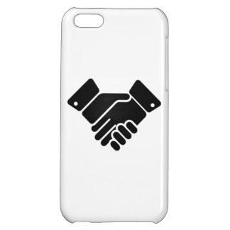 Handshake Sign iPhone 5C Covers