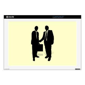 """Handshake 17"""" Laptop Decal"""