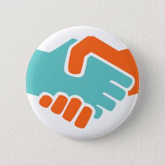 Handshake together button
