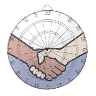 Handshake Vector Dart Board