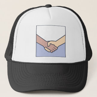 Handshake Vector Trucker Hat