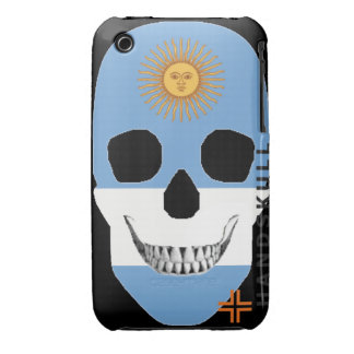 HANDSKULL Argentina - IPhone 3G 3GS Case Barely
