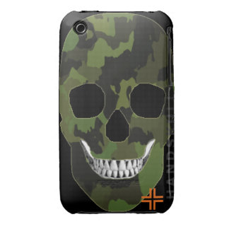 HANDSKULL Army - IPhone 3G 3GS Case Barely ARM