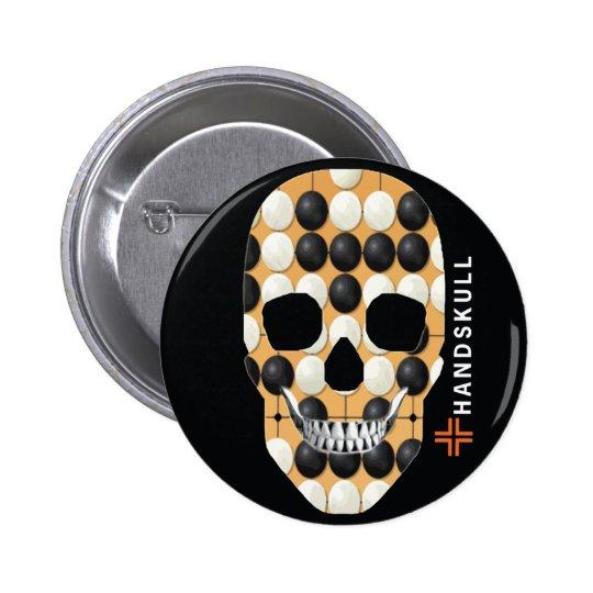 HANDSKULL Baduk,Happy skull,Baduk flag Button