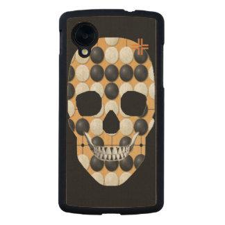 HANDSKULL Baduk - madera delgada del nexo 5 de Funda De Nexus 5 Carved® Slim De Arce