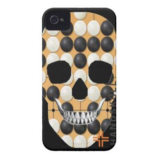 HANDSKULL Baduk - universal de IPhone 4 Barely iPhone 4 Case-Mate Coberturas