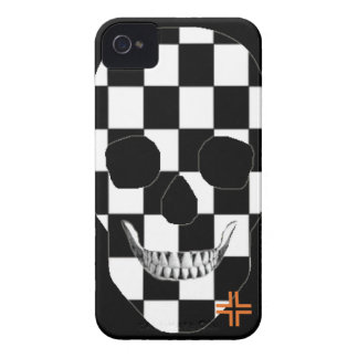 HANDSKULL Chess - iPhone 4 Barely There Univ iPhone 4 Case-Mate Case
