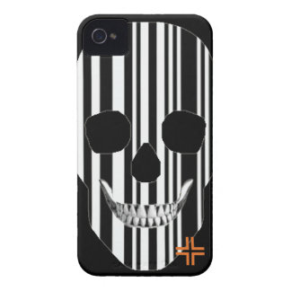 HANDSKULL Codebar - iPhone 4 Barely There Univ iPhone 4 Case-Mate Case