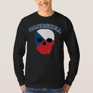 HANDSKULL Czechoslovakia - Basic Long Sleeve T-Shirt