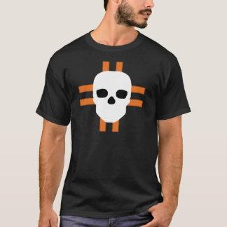 HANDSKULL Edimburgo - camiseta oscura cruzada