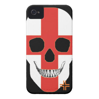 HANDSKULL England - iPhone 4 Barely There Univ Case-Mate iPhone 4 Case