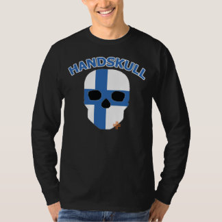 HANDSKULL Finland - Basic Long Sleeve T-Shirt