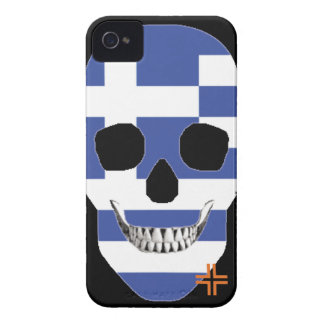HANDSKULL Greece - iPhone 4 Barely There Univ iPhone 4 Case-Mate Case