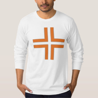 HANDSKULL Helsinki - Cross Jersey Long Sleeve AApa T-Shirt