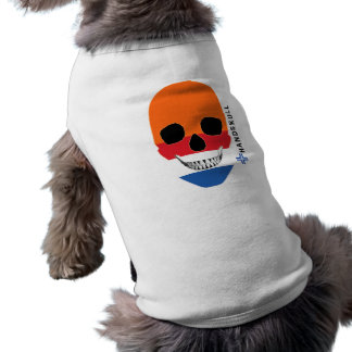 HANDSKULL Holland,Happy skull,Holland flag Shirt
