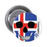 HANDSKULL Iceland - Button