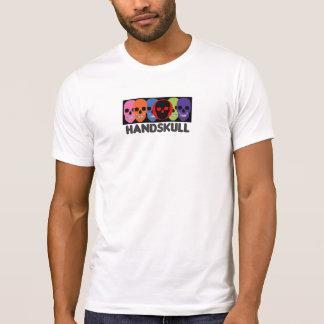 HANDSKULL Kolors - T-shirts Apparel Basic white