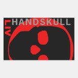 HANDSKULL Liv - pegatina