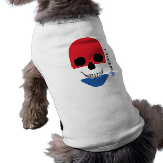 HANDSKULL Netherlands,Happy skull,Netherlands flag T-Shirt
