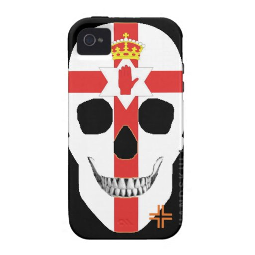 HANDSKULL Northern Ireland - iPhone 4 Vibe Case