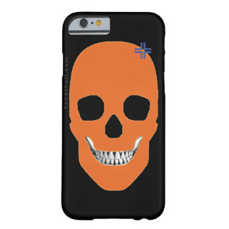 HANDSKULL Orange - iPhone 6 Barely Barely There iPhone 6 Case