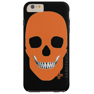 HANDSKULL Orange - iPhone 6 Plus, Vibe Tough iPhone 6 Plus Case