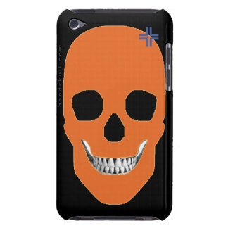 HANDSKULL Orange - iPod Touch Barely 4th Generatio Case-Mate iPod Touch Case