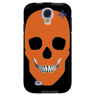 HANDSKULL Orange - Samsung Galaxy S4 Vibe Galaxy S4 Case