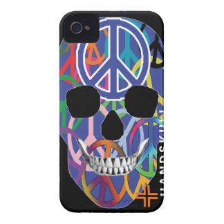 HANDSKULL Peace - IPhone 4 Barely There Universal Case-Mate iPhone 4 Case